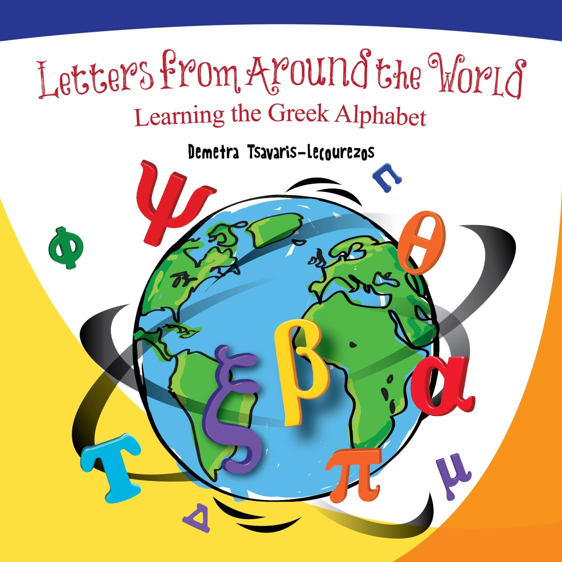 Front Cover Learning the Greek Alphabet